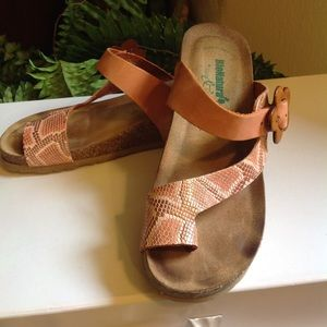 Bos & Co BioNatura Naples Slide On Sandals